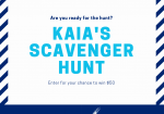 InfoHub Scavenger Hunt Announcement
