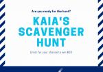 InfoHub Scavenger Hunt Announcement